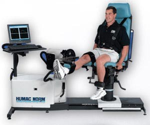 HUMAC NORM Testing and Rehabilitation System
